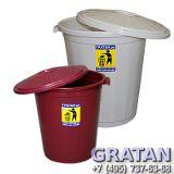 Пластиковые баки для мусора