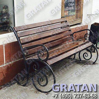 Купить Кованая скамейка ВЕ недорого