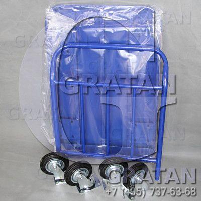 Купить Платформенная тележка 800*1400 с колесами недорого