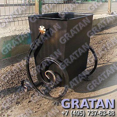 Купить Урна кованая ВЛА-25 Эмаль недорого