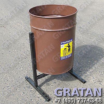 Купить Урна уличная УУ-1Ц (ЭКО-25 Гратан) недорого