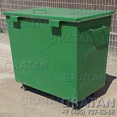 Купить Мусорный контейнер БК-0,8 УСИЛЕННЫЙ (0.8м3) недорого