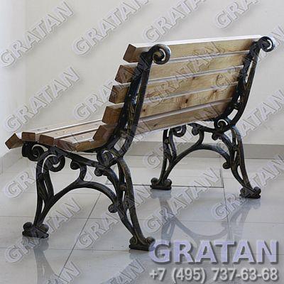 Купить Чугунная скамейка СЧ-5 недорого