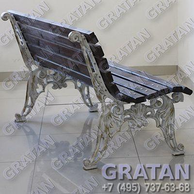 Купить Чугунная скамейка СЧ-7 недорого