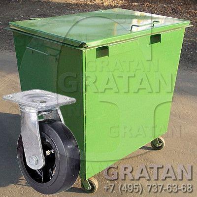 Купить Мусорный контейнер БК-0.8У 2мм (0.8м3) недорого