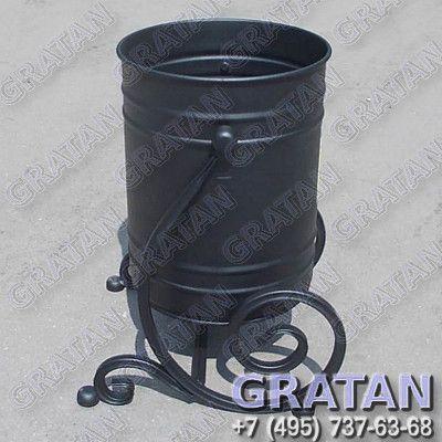 Купить Урна кованая ВЛЦ-20 Полимерное покрытие недорого