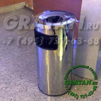Купить Урна пепельница из нержавейки Большая УПН-380 недорого