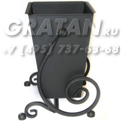 Купить Урна кованая ВЛА-25 Полимерное покрытие недорого