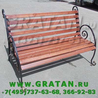 Купить СКАМЕЙКА САДОВАЯ БЕР-1,5 недорого