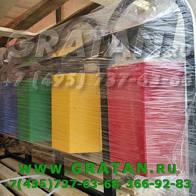 Купить УРНА УРШК-4 4-х секционная ШEСТИГРАННАЯ, для раздельного сбора мусора недорого