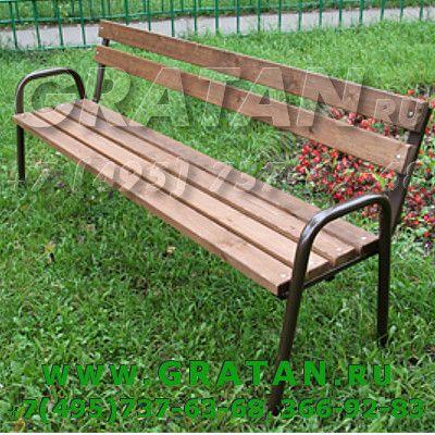 Купить Скамейка парковая С-5 (ДМ-9 ЭКОНОМ) недорого
