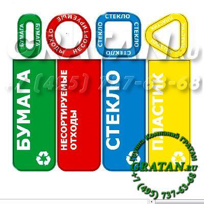Купить Урна для раздельного сбора мусора АКЦ-2 недорого