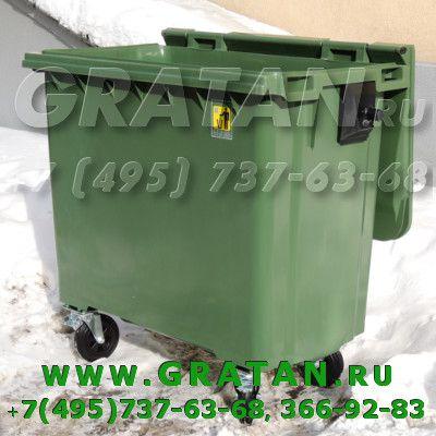 Купить Евроконтейнер для мусора 770л  MGB 770 недорого