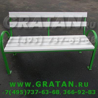 Купить Диван парковый Городской ДМ-9 1.5м недорого