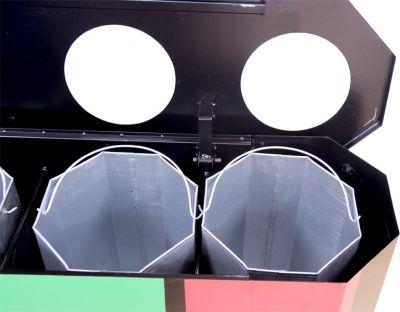 Купить Урна для раздельного сбора мусора СЕЛЕКТ-4 недорого
