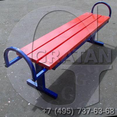 Купить Лавка парковая СМ-3 недорого