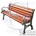Чугунная скамейка СЧ-3