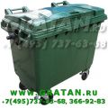 Евронтейнер для мусора 770л GRATAN